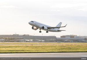 Prova di volo da record per l'Airbus ACJ319neo: 16 ore e 10 minuti