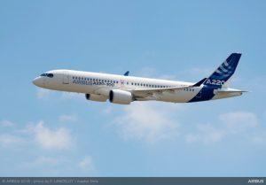 Airbus alza il sipario sui nuovi A220-100 e A220-300