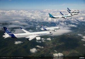 Airbus scalza Boeing dal podio: consegnati 863 velivoli nel 2019