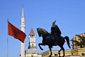 Estland a Scutari per la partita Albania-Italia