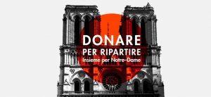 Albatravel lancia «Donare per ripartire. Insieme per Notre-Dame»