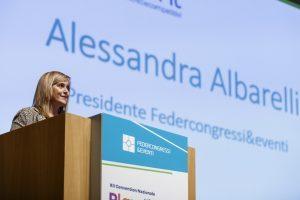 Federcongressi, Alessandra Albarelli riconfermata alla presidenza