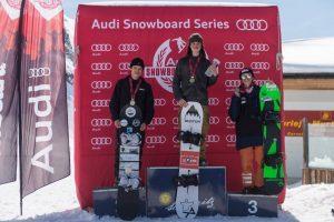 Jet Park sponsorizza un giovane snowboarder sotto la bandiera rossocrociata per le Olimpiadi