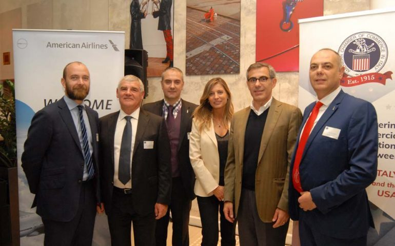 American Airlines incontra i membri dell'American Chamber of Commerce in Italia