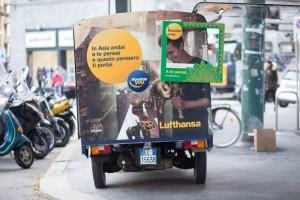 Lufthansa, un'Apecar per promuovere i voli sull'Asia