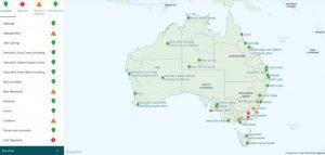Tourism Australia: «Gran parte delle destinazioni turistiche non è colpita dagli incendi»