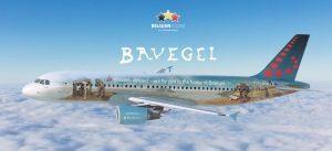 Brussels Airlines: è Bruegel la sesta icona belga della compagnia