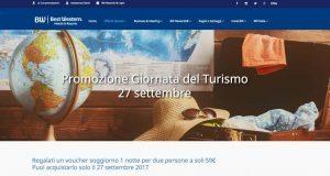 Best Western Italia in offerta nella Giornata mondiale del turismo