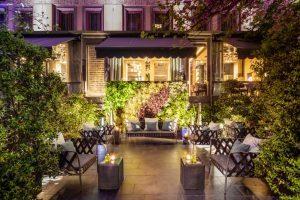 Il Baglioni Hotel Carlton Milano inaugura il Secret Urban Garden