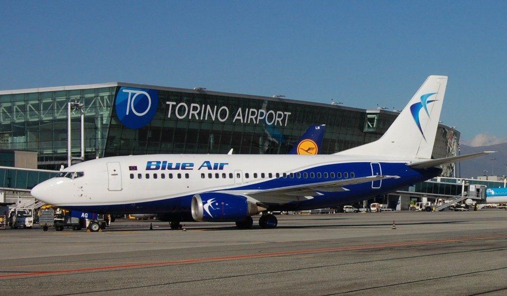 Blue Air rafforza il network italiano, nuovi voli su Torino e Milano