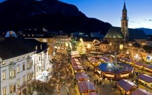 Bolzano, il mercatino di Natale diventa ecosostenibile