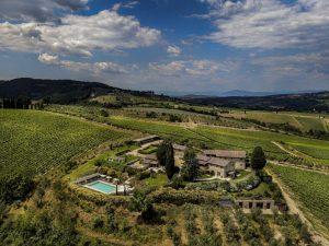 Borgo del Cabreo, le proposte per trascorrere l'autunno tra i vigneti del Chianti Classico