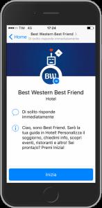 Il chatbot Best Friend è attivo in tutte le strutture italiane BW