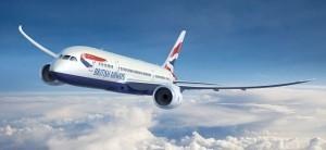 South Carolina, primo volo diretto dall'Europa con British Airways