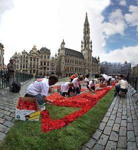 Bruxelles, il Tappeto di Fiori ritorna sulla Grand Place dal 16 al 19 agosto