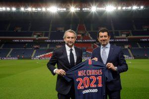 Msc è il nuovo official sponsor del Paris Saint-Germain football club
