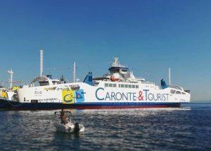 Caronte&Tourist festeggia l'ingresso in flotta di Elio