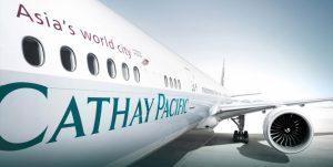 Cathay Pacific: i passeggeri trasportati calano dell'11% in agosto
