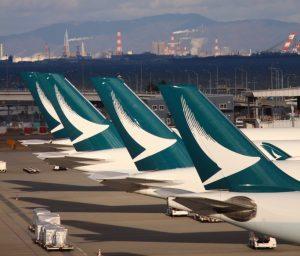 Cathay Pacific: a terra 120 aeromobili, circa la metà della flotta