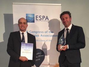 Terme di Chianciano premiate  con l'Espa Innovation Award 2018