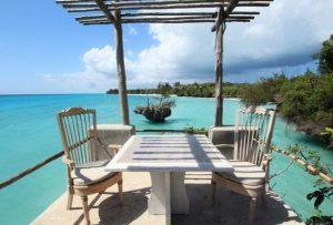 Constance Ayiana, soggiorno esclusivo sull'isola di Pemba