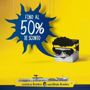 """Corsica Sardinia Ferries lancia """"un'offerta da brividi"""" per smuovere gli indecisi"""