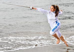 Sulla Costa Magica si tira di scherma con la campionessa del mondo Mara Navarria