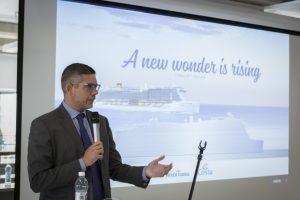 Iniziati i lavori per la costruzione di Costa Toscana. Sarà consegnata nel 2021