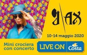 Costa Crociere: con Live on Costa J-Ax in concerto a bordo