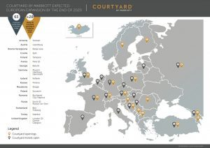 Courtyard by Marriott: espansione europea con 30 new entry per fine 2020