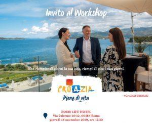 Croazia: domani a Roma il workshop 2019 dedicato al trade
