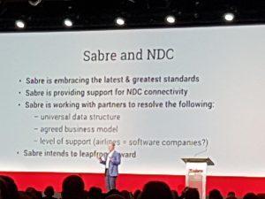 Sabre sviluppa soluzioni compatibili con Ndc, primi test entro il 2018
