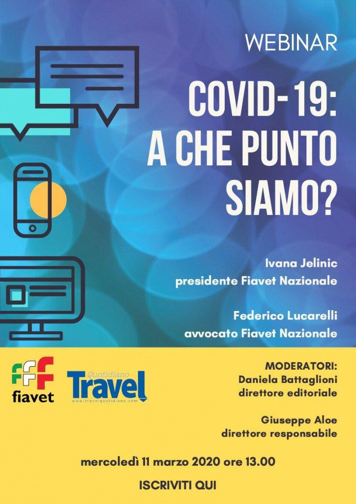 Webinar Fiavet: hanno partecipato attivamente 422 agenzie di viaggio