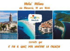 Vuoi andare in Croazia! Fai il quiz e partecipa all'evento del 15 maggio