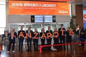 EasyJet decolla da Venezia alla volta di Lanzarote