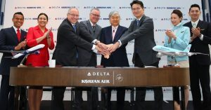 Nuova joint venture tra Korean Air e Delta Air Lines