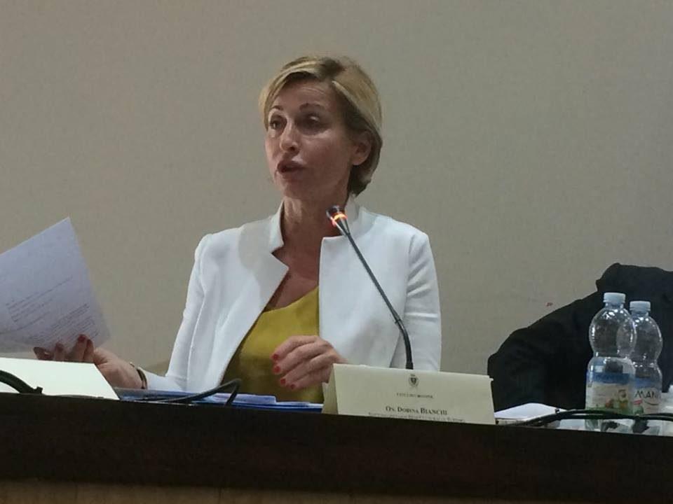 Dorina Bianchi a sostegno delle Olimpiadi a Napoli