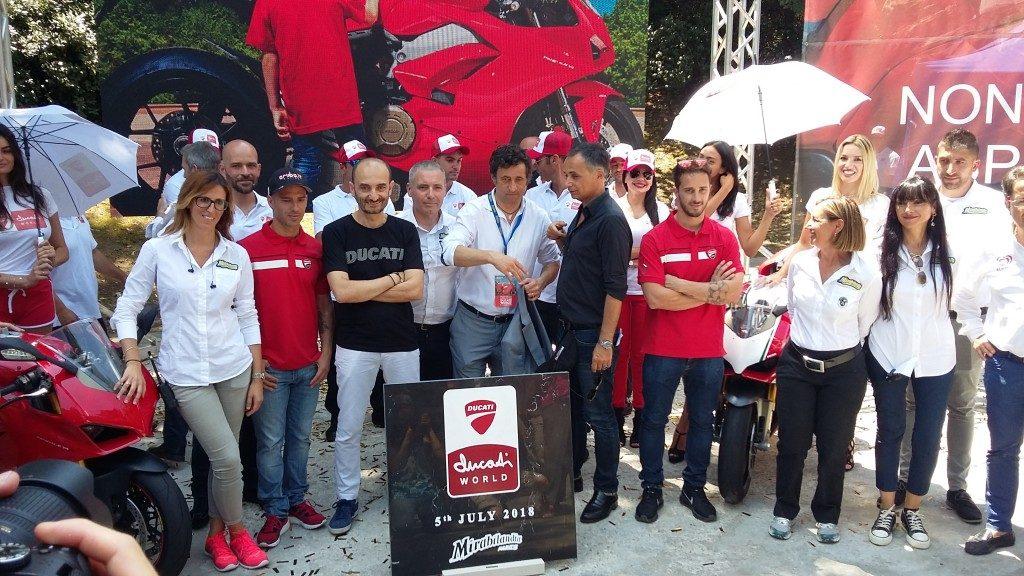 Mirabilandia, posa della prima pietra per il Ducati World
