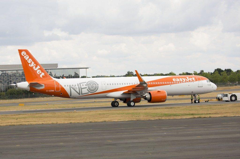 easyJet accoglie il primo A321neo: ecco l'ammiraglia della flotta