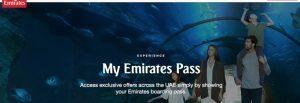 My Emirates Pass: torna la membership card con sconti e benefit