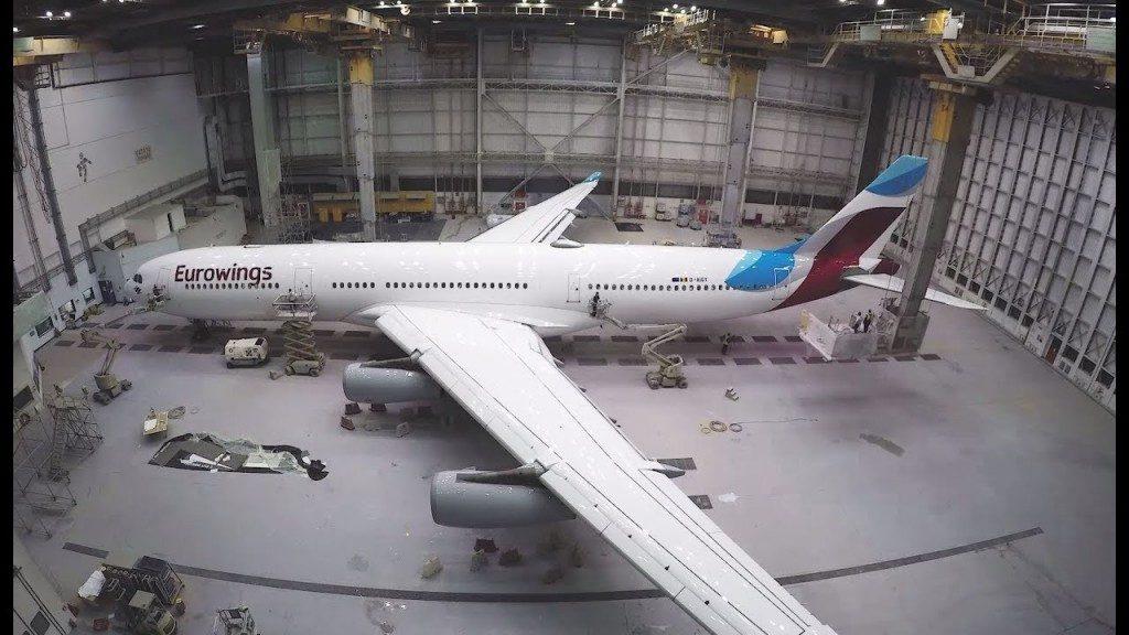 Eurowings: debutta il primo A340 operato da Brussels Airlines