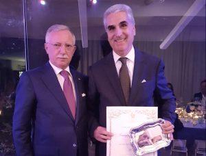 Giuseppe Mariano, Vestas Hotels, manager dell'anno 2017 per Ehma