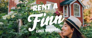 "Rent a Finn goes virtual, per essere felice ""noleggia"" un finlandese"