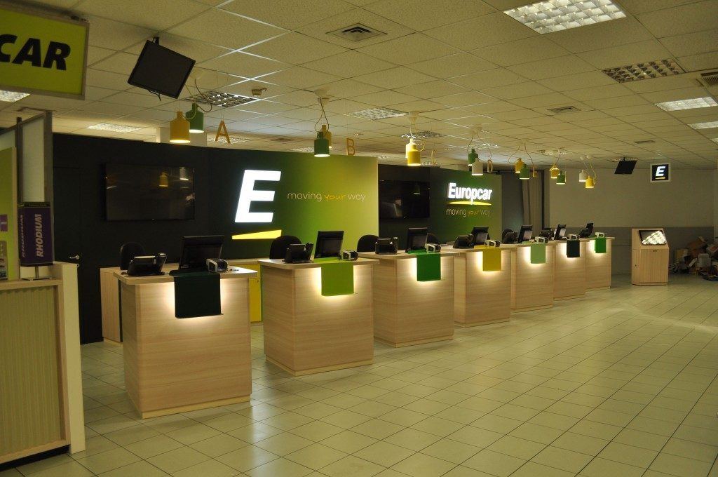 Europcar, prosegue il restyling degli store
