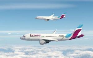 Eurowings, nuovo volo Monaco-Berlino (Tegel)