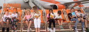 """EasyJet rilancia la """"Flybrary"""" per intrattenere i più piccoli a bordo"""