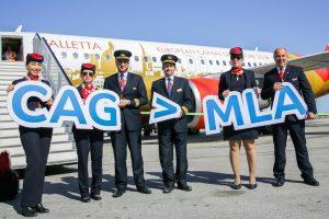 Air Malta: aperti i nuovi voli da Cagliari e Catania
