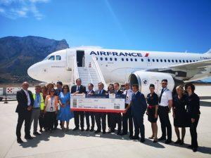 Air France inaugura la rotta estiva Palermo-Parigi