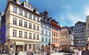 Francoforte festeggia la riapertura dello storico quartiere DomRömer