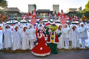 Gardaland Magic Winter accende il Natale con Carlo Cracco e famiglia